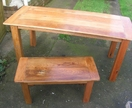 Handcrafted Recycled Rimu/Kauri Dining Tables