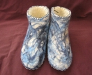 mens marbled slippers
