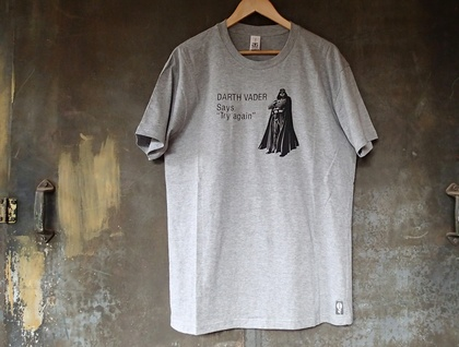 'Darth turns motivational speaker' Tee