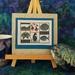 New Zealand cross stitch pattern - Pukeko and Paua