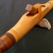 Native American Indian Style Flute- Fijian Kauri - E