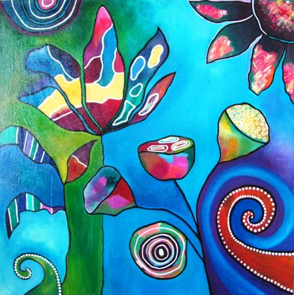 Enchanted  - Original Painting on Canvas