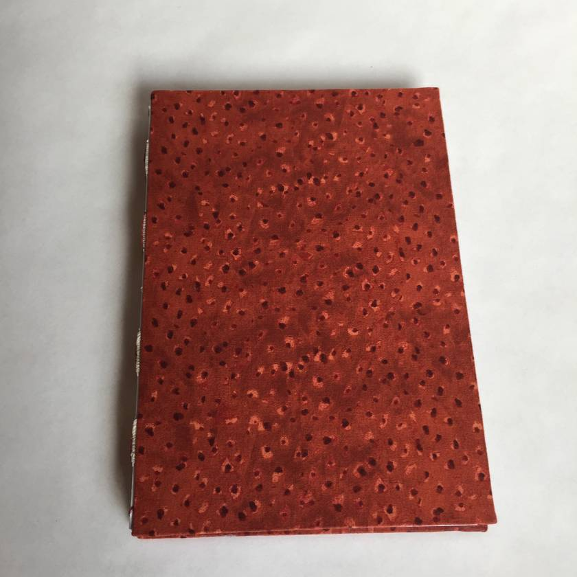 Handmade lined journal