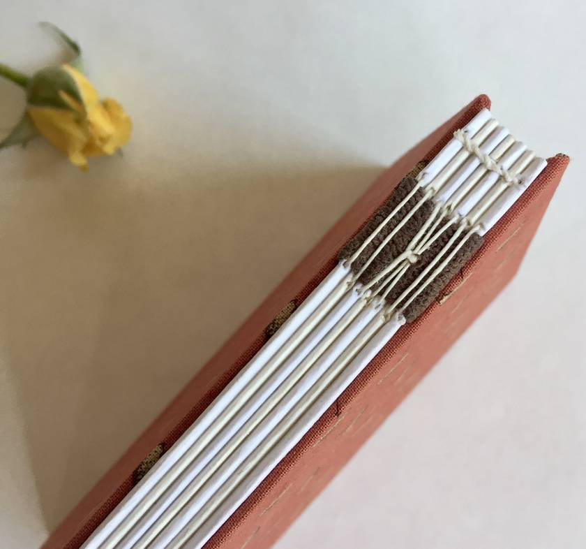 Hand stitched journal