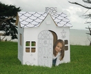 CARDBOARD PLAYHOUSE OR PLAYCAR