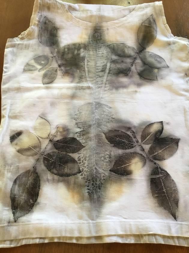 Eco rose - women's size 12 vest
