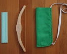 Wooden Bow + Arrow Set