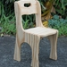 Hand crafted - Kids table and chair set