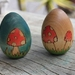 Wooden Eggs listing reserved for Nicki