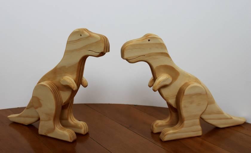 Wooden Dinosaur - T-Rex