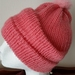 2 Girlish  Hats with pompoms - SALE