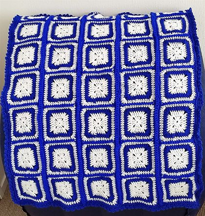 Sea Side Grany Squares Blaket/Mat / Cover