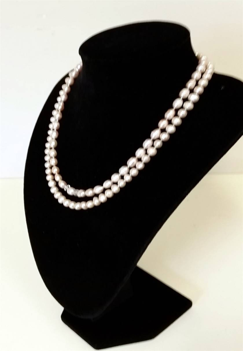 Lovely Double Strands Necklace & earrings