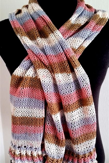 Long  Scarf in lovely colors