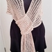 Lacy Summer Scarf - bamboo- SOLD OUT