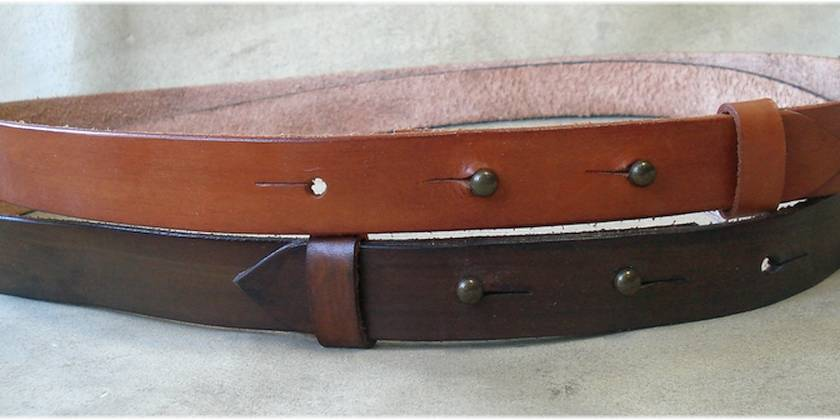 "Button Belt 25mm wide (1"")"