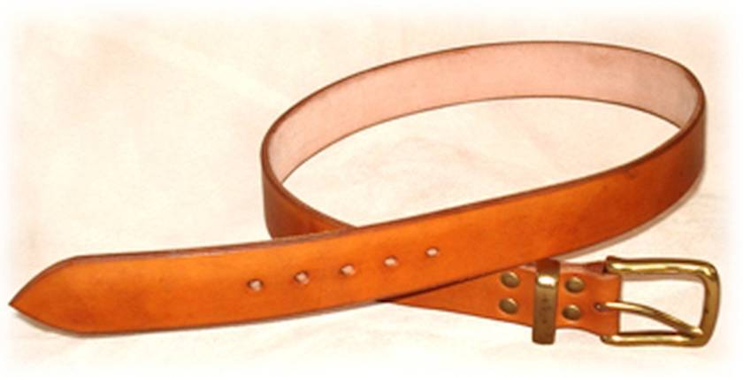 LEATHER BUCKLE BELTS