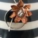 Copper Flower Pendant