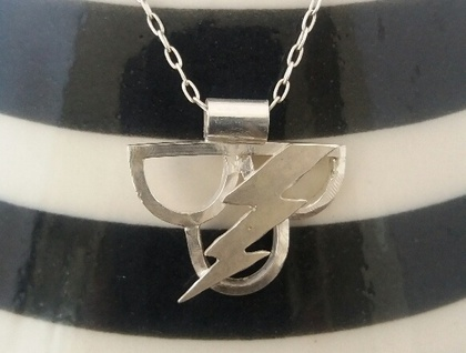 Lightning Cloud Pendant