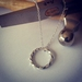 Twisted Halo necklace