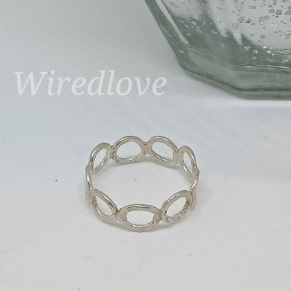 Sterling Silver Jumpring band