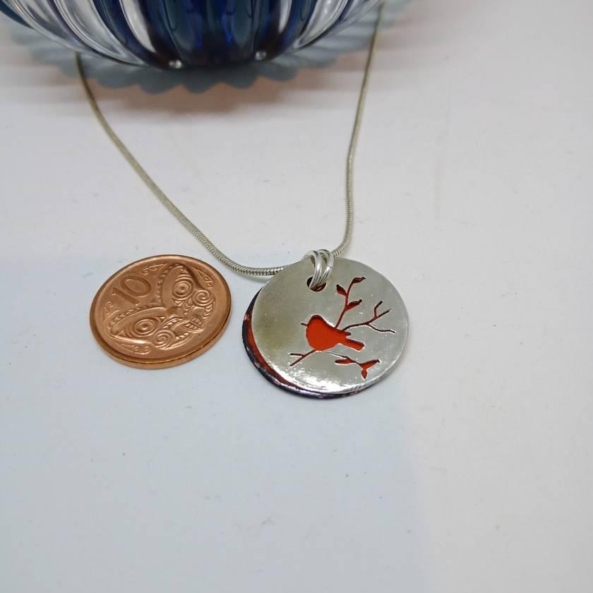 Red Robin pendant