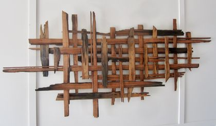 """INTER TWINED"" 1.7 Meters long x 600mm high"