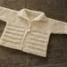 Child's Handknitted Jacket - size 2-4 (see below for actual measurements)