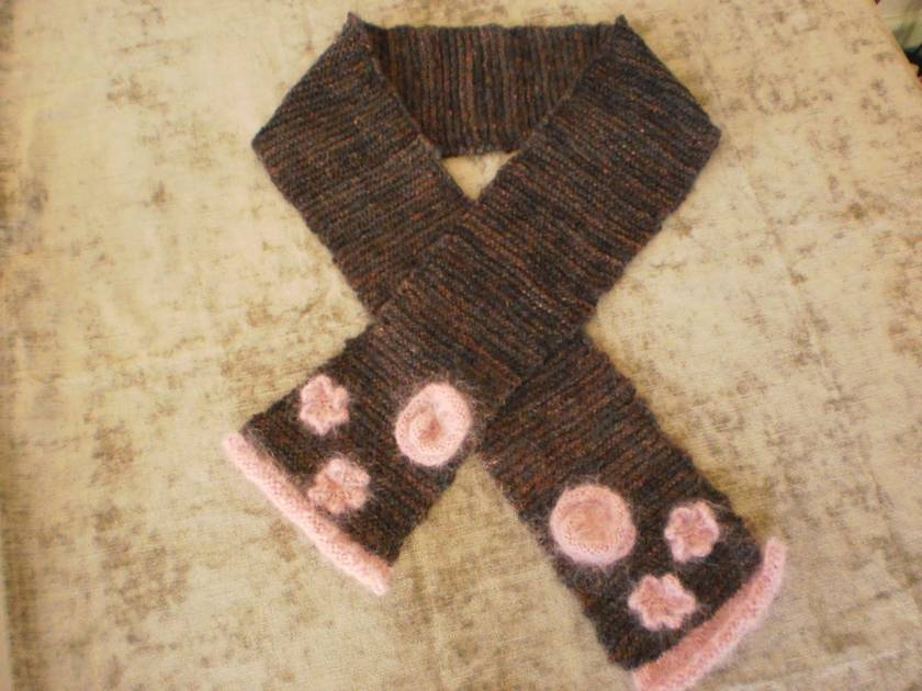 Adult's Handknitted Scarf