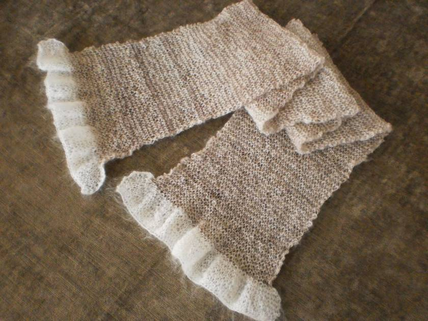 Adult's Hand Knitted Scarf
