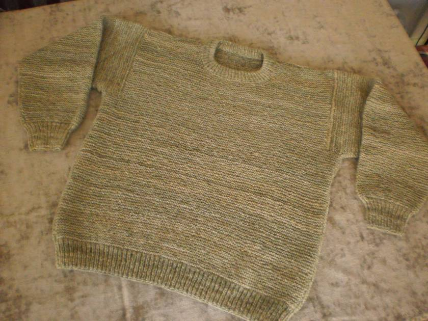 Adult's Hand Knitted Jersey