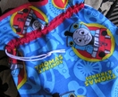 Drawstring Library Bag - Toy Bag - Sport Bag - Water Resistent for Swimming - Thomas the Tank Engine