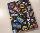 Childs Coloring Crayon Roll Wallet Toddler Travel Kit - Trains