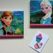 'Frozen's' Anna and Elsa (2 canvases)