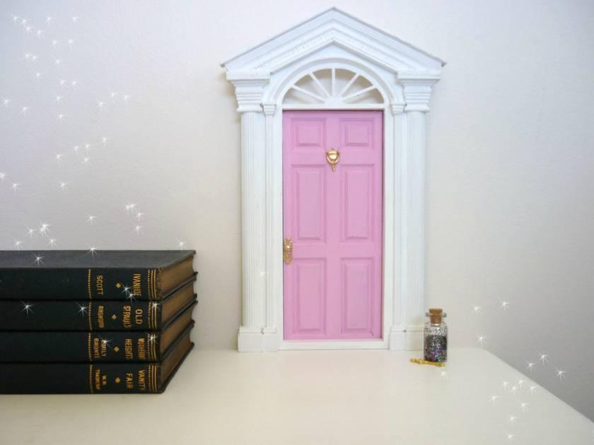 Whimsical fairy door tooth fairy door with fairy dust for Fairy door kmart