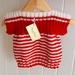 Woolen knitted vest 3-6mths