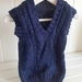 Knitted vest 3 - 6 months