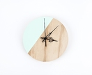 Mint Segment Clock