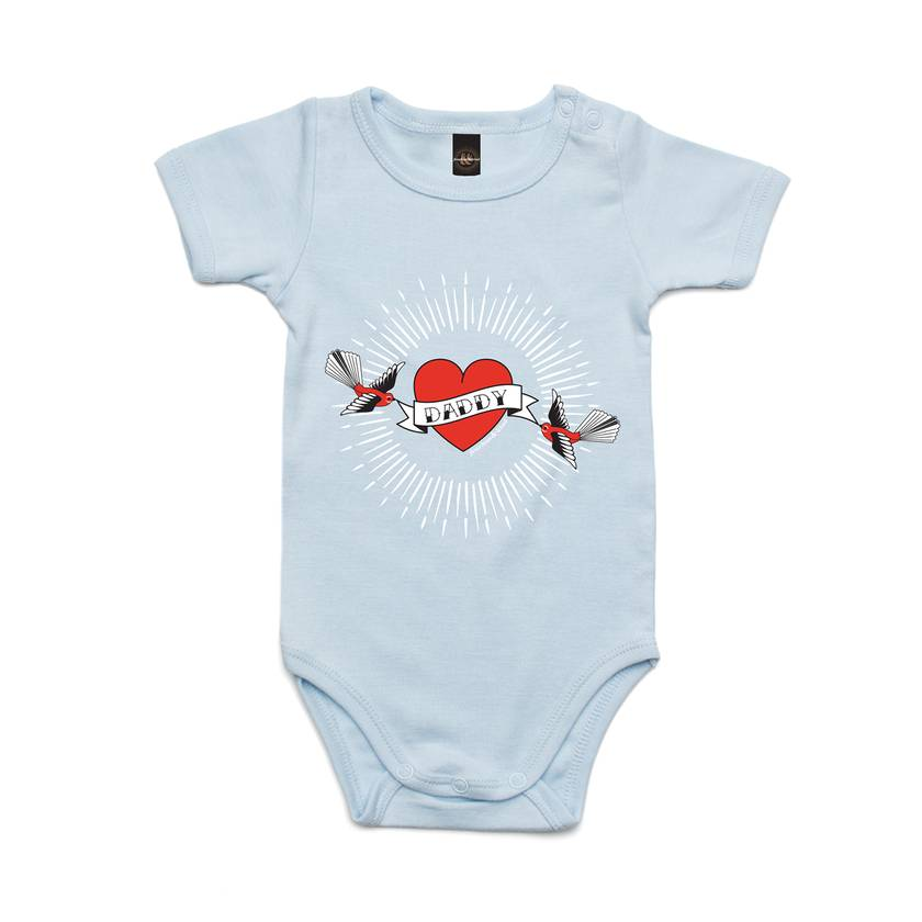 Inked Up Daddy Bodysuit in 4 Colours