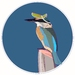 Kotare (Kingfisher) Digital Art Download