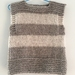 Hand Knitted 'Chunky' Vest