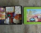 Sewing Kit with an Outback scene Tin