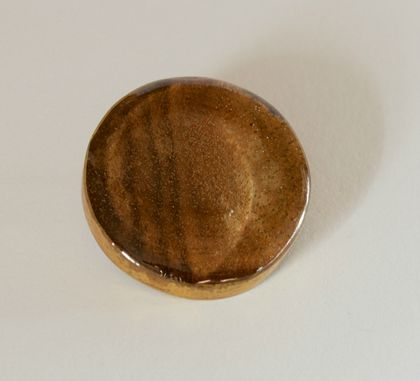Walnut Brooch