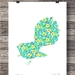 'Hippie Chick' - A3 size Fine Art Print $35-