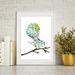 Floral Fantail - A3 size Fine Art Print $35-