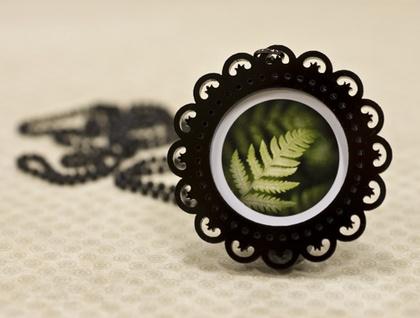 Fern necklace – victorian