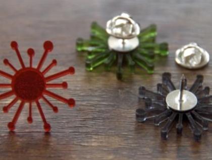 Kiwiana necklace - nikau II