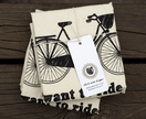 Bicycle tote bag x2