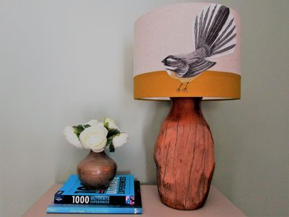 Fantail Stitched Lampshade 30cm