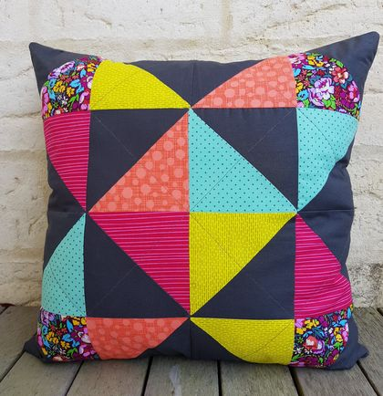 Quilted Criss Cross Cushion